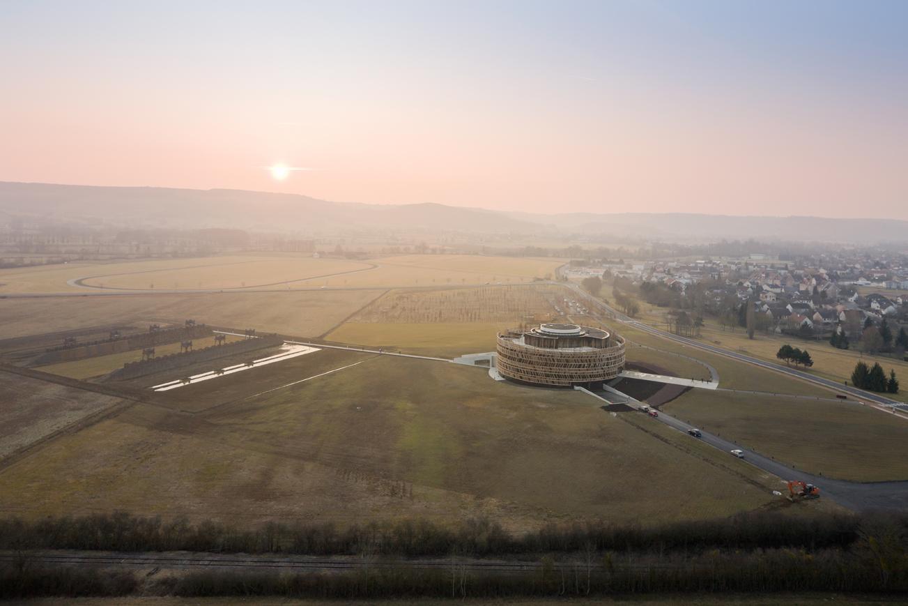 Centre d''interprétation. Alise-Sainte-Reine - MUSÉOPARC ALÉSIA - SEM ALÉSIA©IWAN BAAN