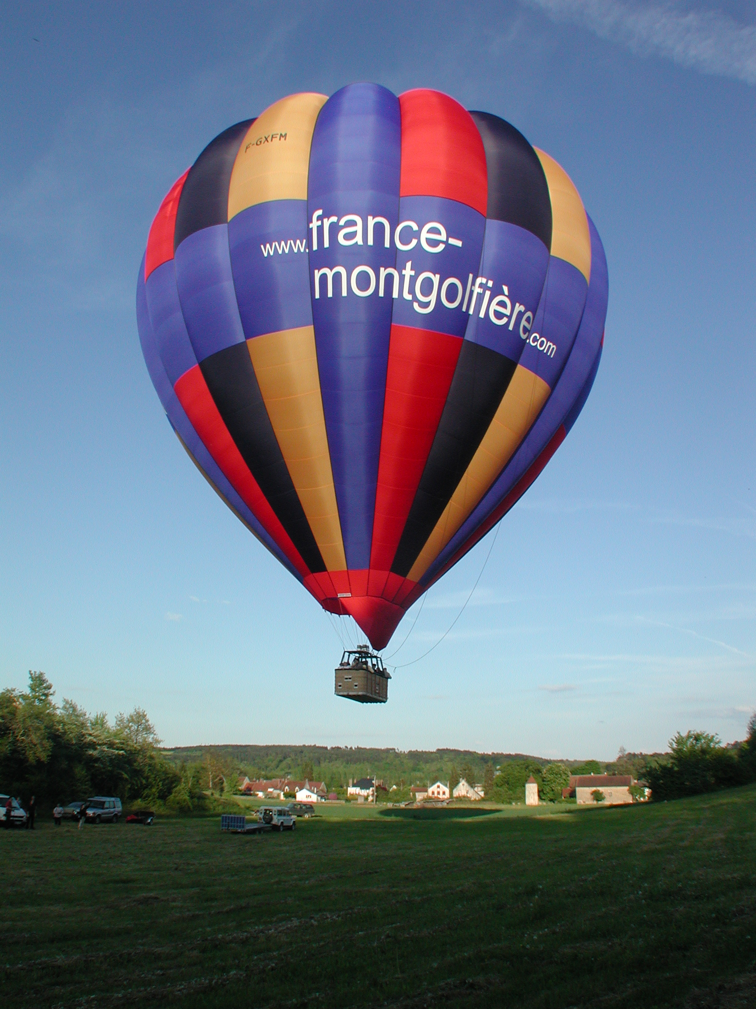 Décollage - FRANCE MONTGOLFIÈRES©DAVID LA BEAUME