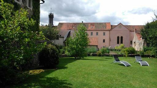 Jardin de la propriété - LE LOGIS DE L''OZERAIN©B. VANHALST