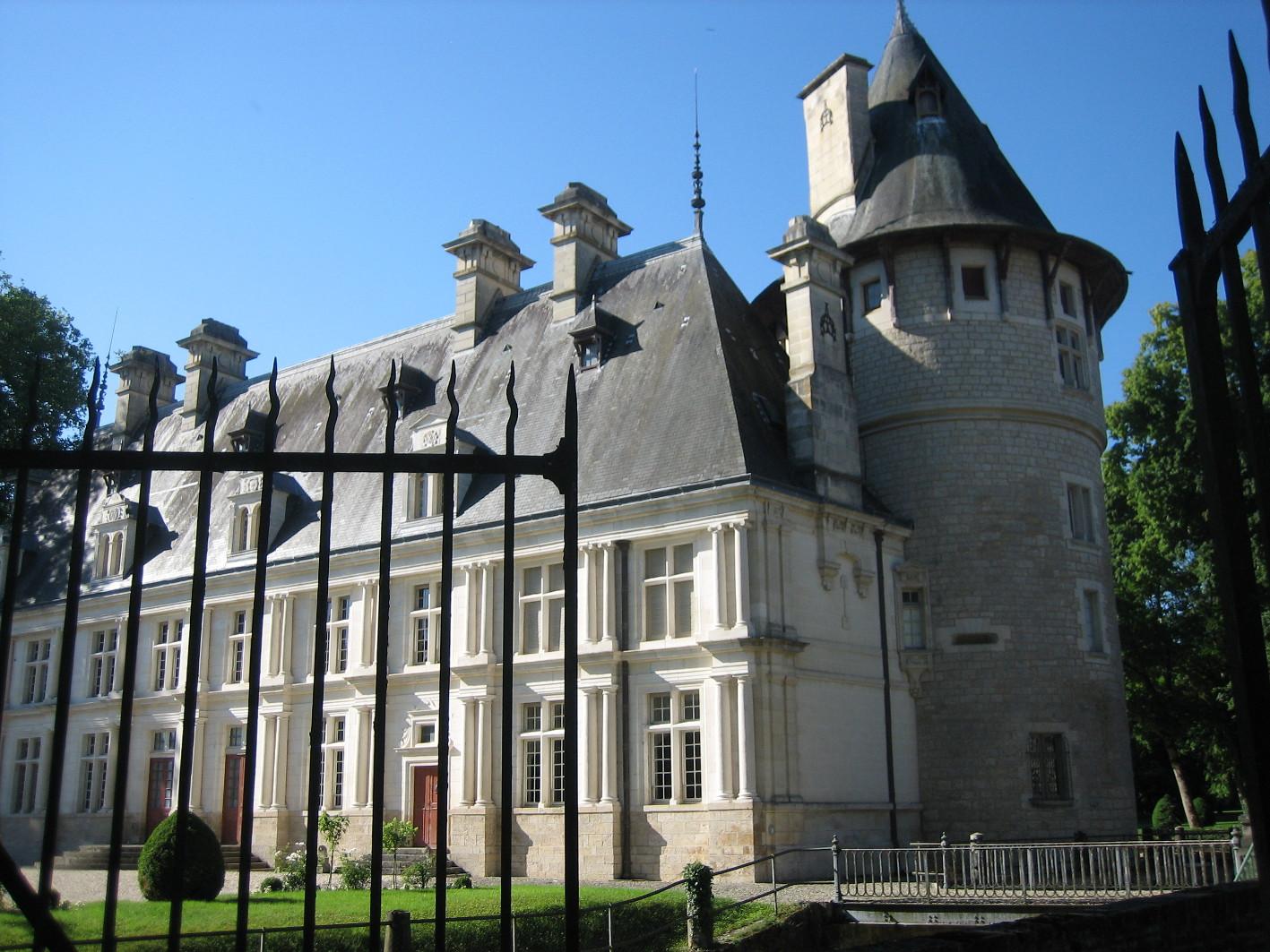 Entrée septentrionale - Château de Montigny-sur-Aube © Château de Montigny-sur-Aube