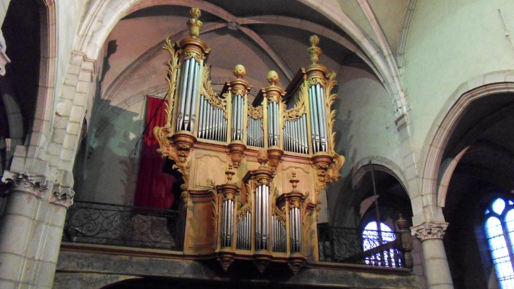 Les orgues - OFFICE DE TOURISME RIVES DE SAÔNE - ANTENNE DE SAINT-JEAN-DE-LOSNE©P. M. GUÉRITEY