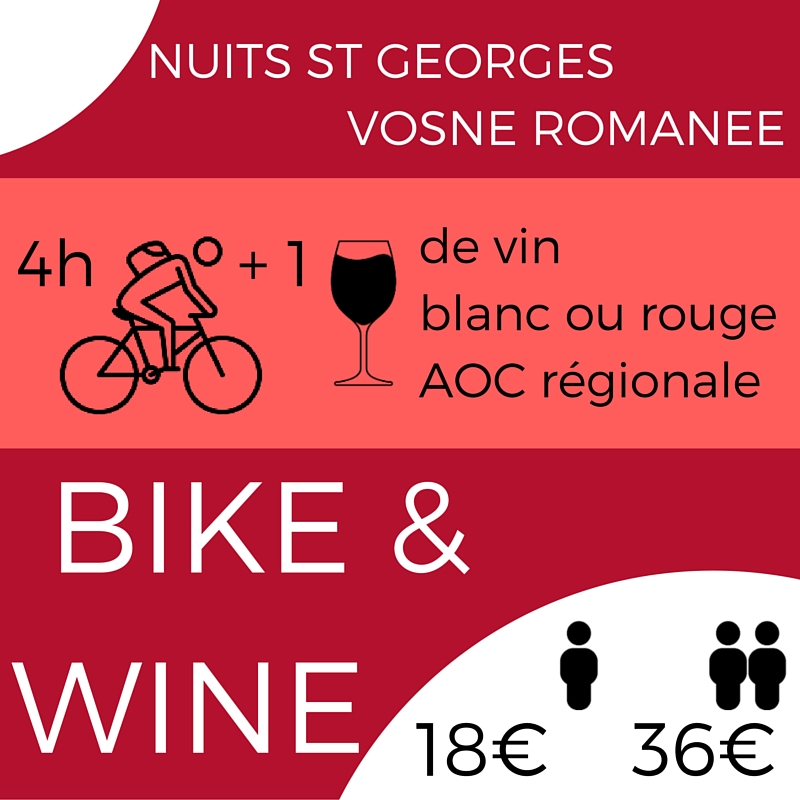 Bike & Wine / Bike & Lunch - De Nuits-Saint-Georges à Vosne-Romanée