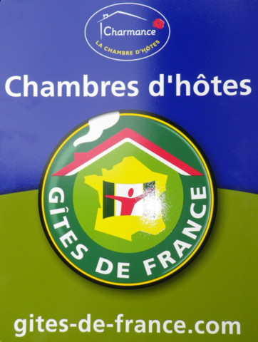 Logo Gites de France - Label Charmes sur Gîtes de France