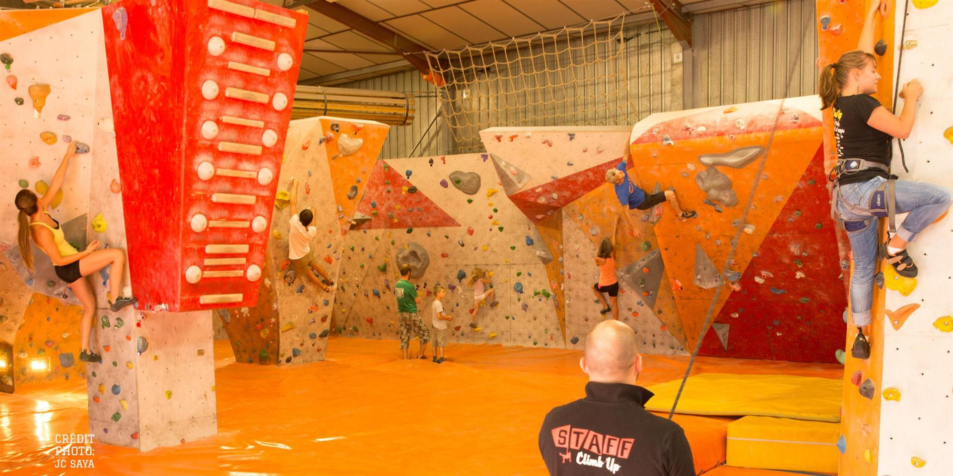 Salle d''escalade Climb Up Dijon - JC SAYA - Climb Up Dijon