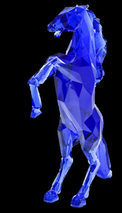 cheval bleu - orlinski
