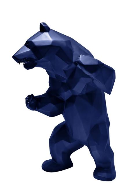 ours debout bleu - orlinski