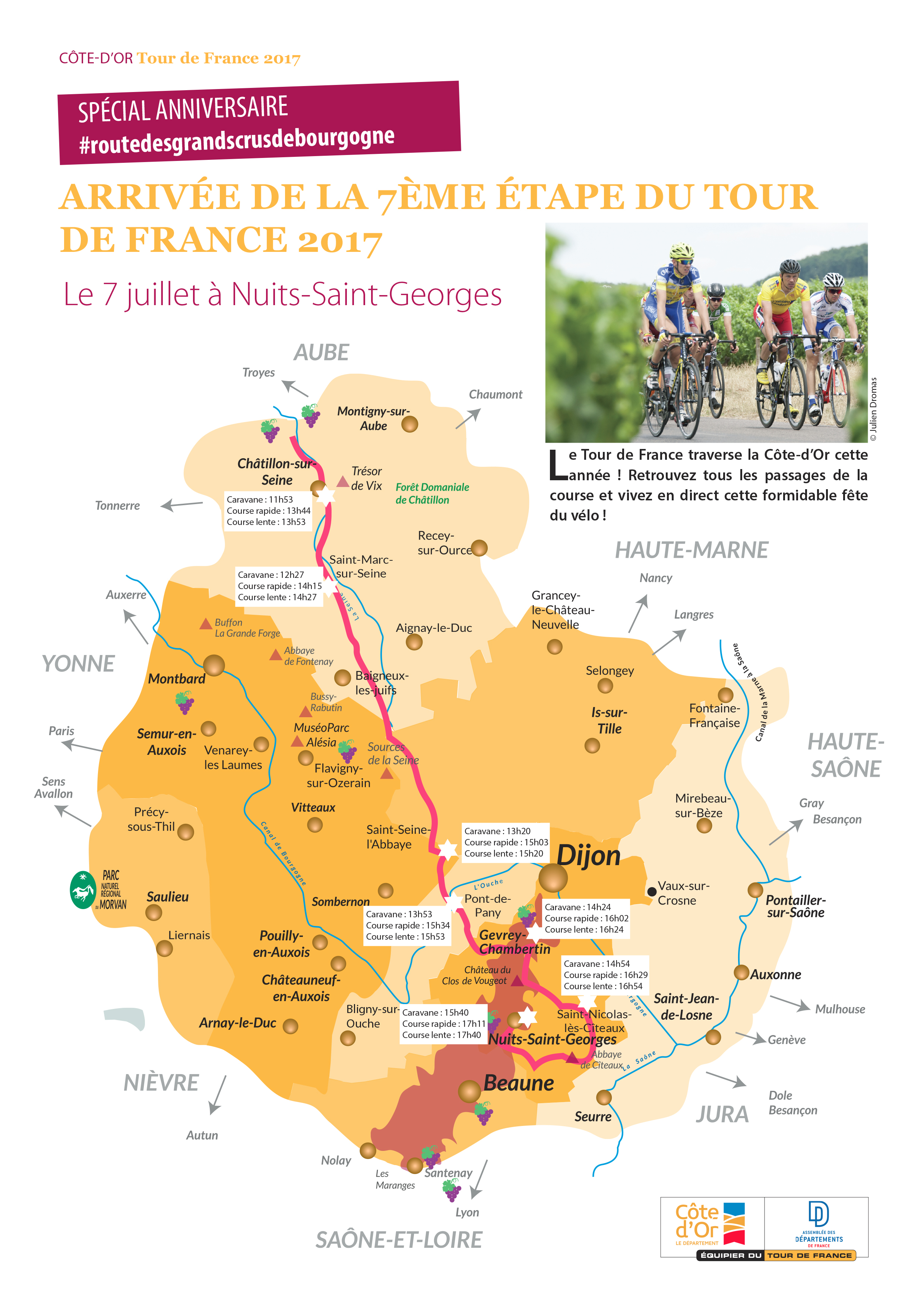 Le Tour en Côte-d'Or